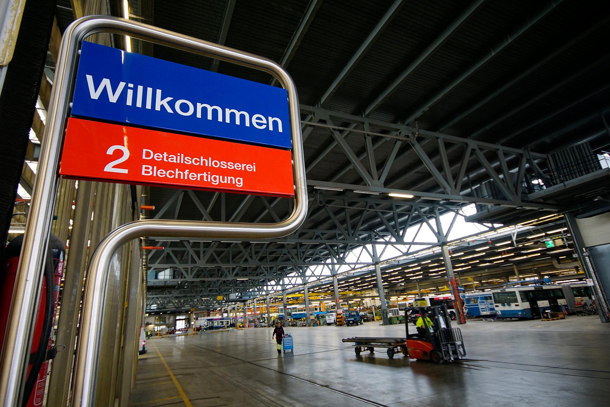 FotoKurs VBZ Werkstätten