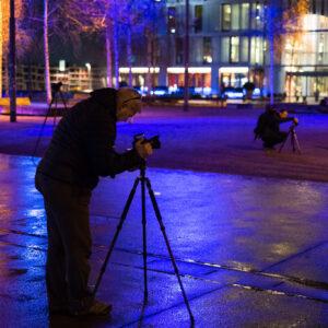 Making of Nachtfotografie Zürich-West