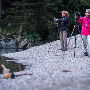 Making of Licht im Seealpsee