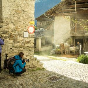 Making of Künstlerauszeit Val Bregaglia