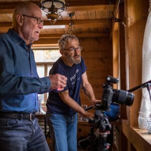 Making of Galerie Gigantische Makrofotografie